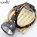 YUPARD bright power XM-L T6 LED HeadLight 18650 rechargeable battery  Headlamps LED camping Head Light including Lightsphere