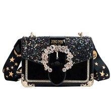 2019 Fashion Female Diamond Bag New Women's Designer Handbag Quality PU Leather Women Famous Bag Chains Shoulder Messenger Bags