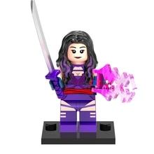 Single Sale superhero marvel X Men movie Psylocke font b building b font blocks font b