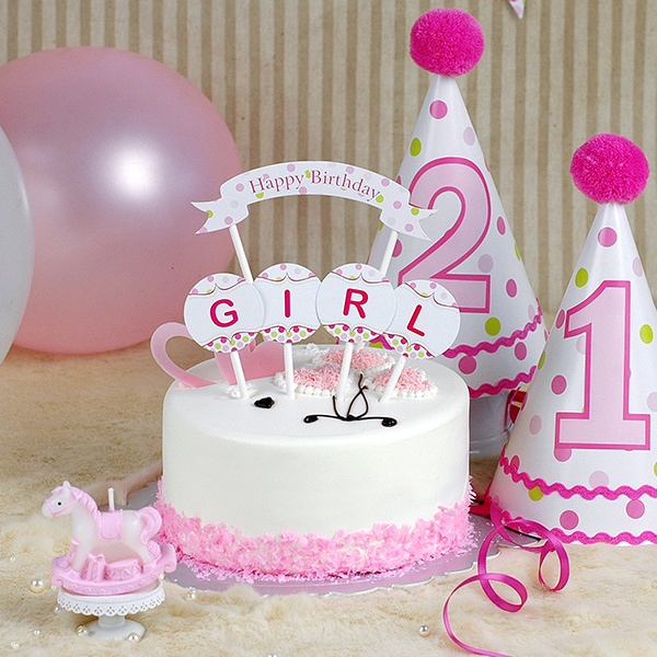 Cake Decorations Letters Uk : Aliexpress.com : Buy Free Shipping Pink Letter Cupcake ...