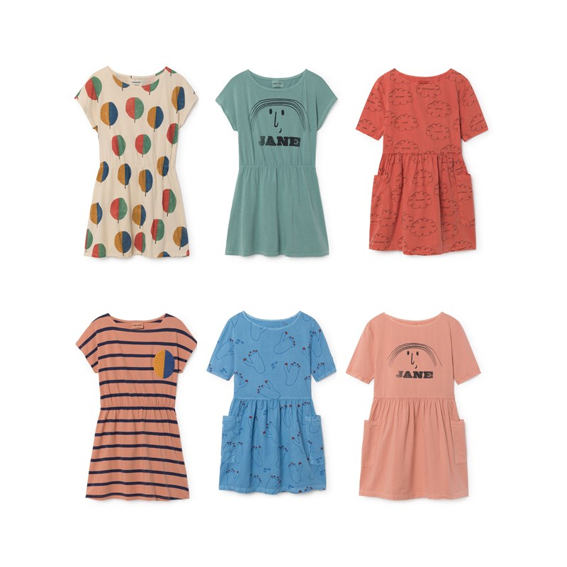 BOBOZONE 2018 NEW BOBO Dresses For Girls Kids Clothing