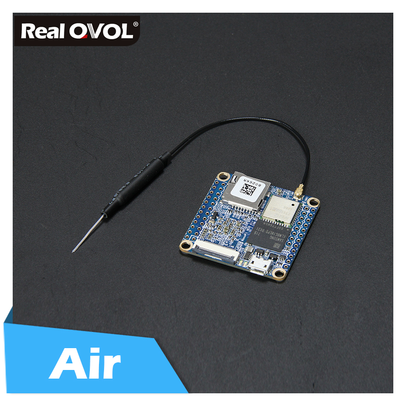 RealQvol FriendlyARM NanoPi NEO Air 512MB RAM WIFI&Bluetooth,8GB/32GB EMMC  Allwinner H3 Quad-core Cortex-A7