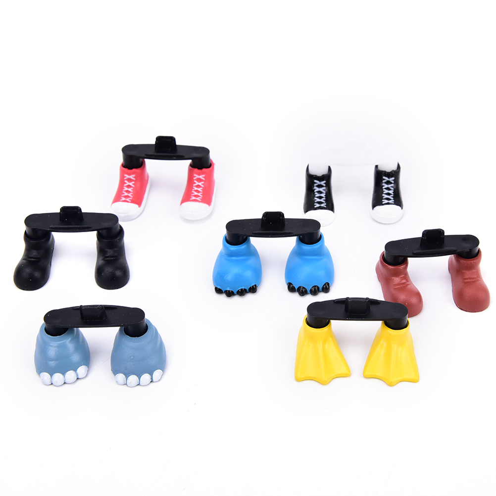1pc Cute Shoes Feet Shaped Dustproof Stopper Kawaii Charge Port Dust Plug Suitable For Samsung For Android Phone