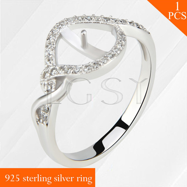 0b33bd8c5757a US $10.8 |Free shipping Twisted design multiple size rings jewelry gift for  women LGSY 925 sterling silver ring accessories-in Rings from Jewelry & ...