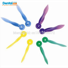 free shipping Dental Disposable Wedges Plastic with hole