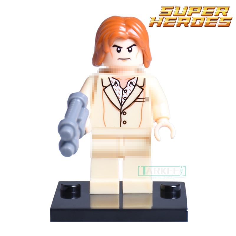 1PC Lex Luthor diy figures Avengers DC Super Heroes Batman vs. Superman Building Blocks Bricks For Kids Children Toys Xmas