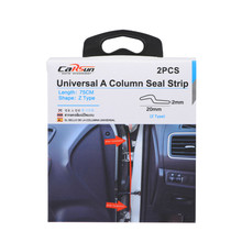 75cm Car Noise And Dust Seal A Column B Column Strip Stickers Anti-Dust Soundproof Sealing Type Insulation Auto Interior
