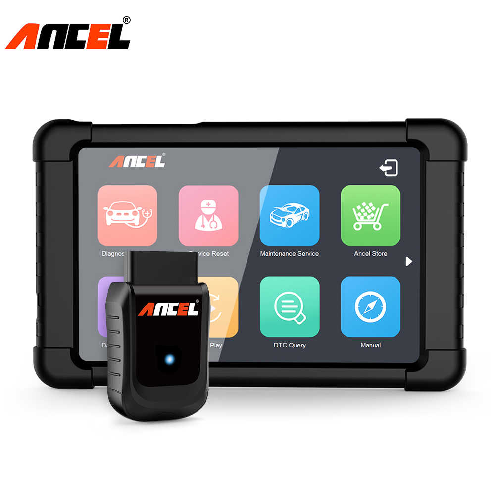 ANCEL X5 OBD2 WIFI Automotive Scanner Full Systems Diagnostic Tool In Portuguese ABS Airbag Oil EPB DPF Car Diagnostics Scanner