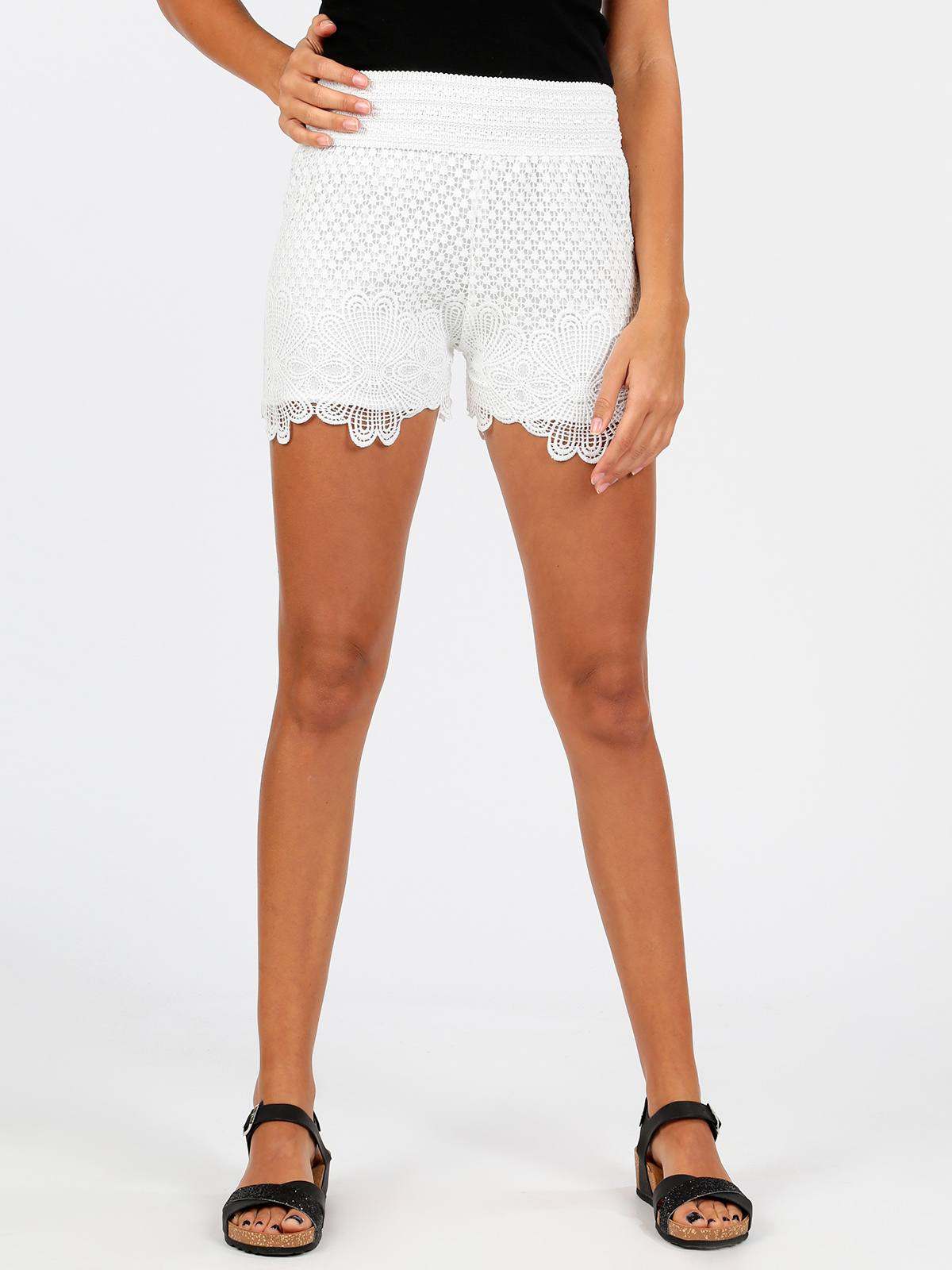 Shorts Macrame