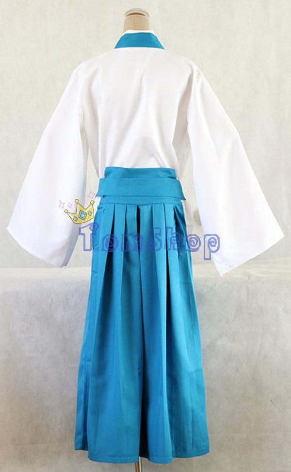 Anime Gintama (Silver Soul) Shimura Shinpachi Kimono Cosplay Uniform Full Set Outfit Clothing Halloween Costume Size S M L XL