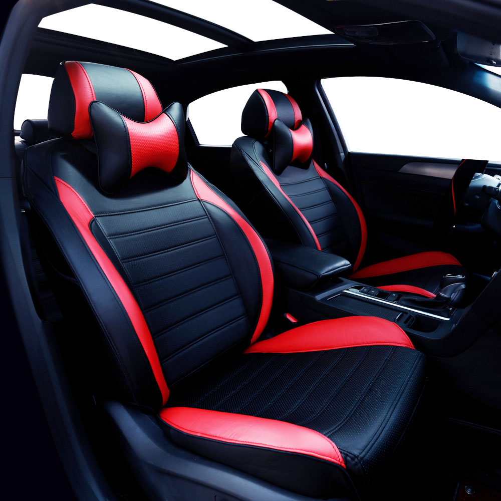 Yuzhe leather car seat cover for ford mondeo focus 2 3 kuga fiesta edge explorer fiesta
