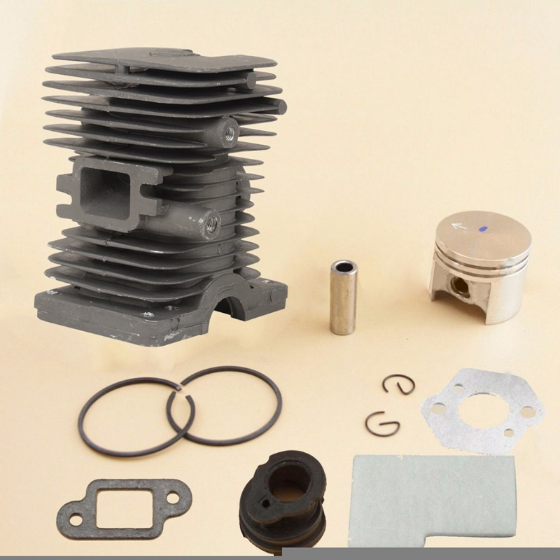 Durable Mayitr 37MM Cylinder Piston Ring For 017 MS170 Chainsaw 1130 020 1204 Replacement