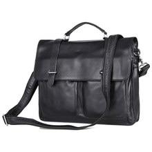 JMD High Quality Real leather Men's Briefcase Portfolio Business Bag Messenger Bag 7100A цена в Москве и Питере