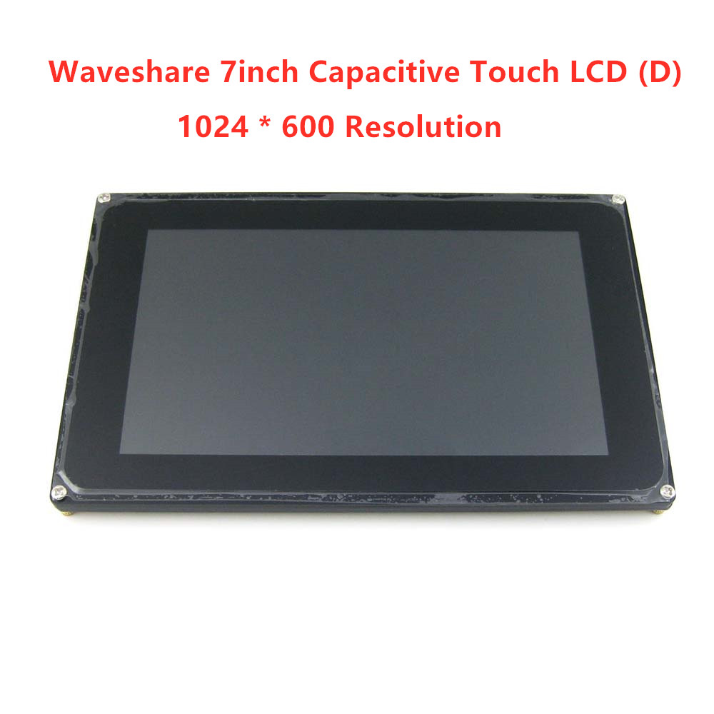 7inch Capacitive Touch LCD D Display 1024 600 Resolution TFT Screen Module RGB and LVDS Interface