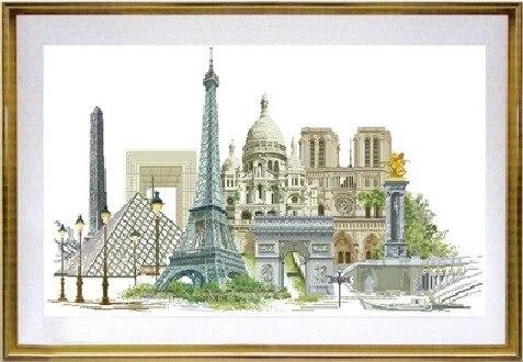 Kit de punto de cruz contada colección de oro París Francia famosa serie de la ciudad tg 472-in Paquete from Hogar y Mascotas on AliExpress - 11.11_Double 11_Singles' Day 1