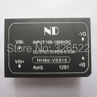 1000V DC High Voltage Power Supply Module Isolation Switch 15V5W DC DC Voltage Regulator Modules NH05