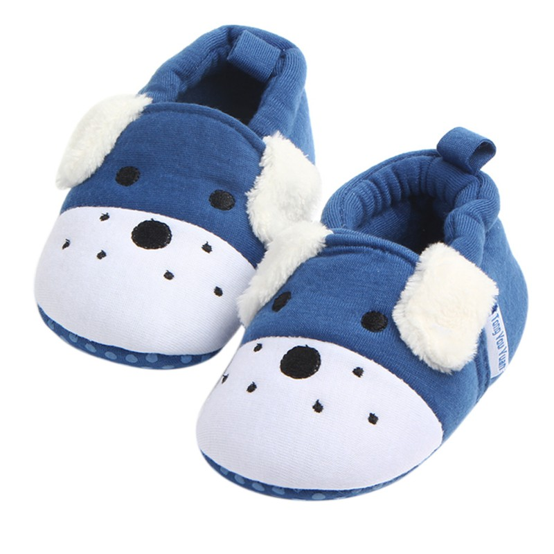 Baby Boy Girl Cute Cotton Shoes Infant Newborn Baby Soft First Walkers Kids Shoes Unisex Rubber Bottom Shallow