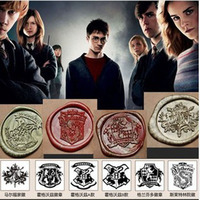 Vintage Creative Wax Seal Stamp Harry Potter Hogwarts Single Stamp Set Personal DIY Stamp Nice