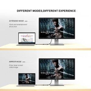 Image 5 - Qgeem Usb C Naar Hdmi Adapter Kabel 4K 30Hz Type C Naar Hdmi Voor Huawei Mate 20 macbook Pro 2018 Ipad Pro Galaxy S9 Hdmi USB C Kabel