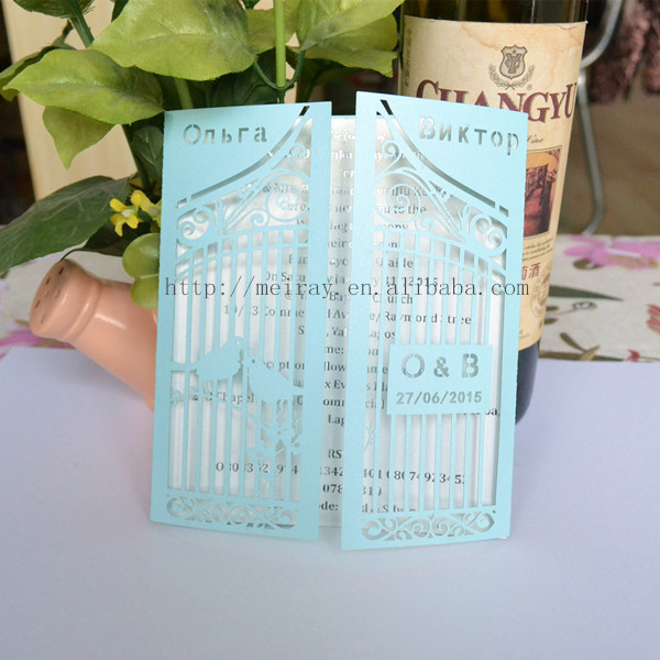 all for weddingbirdcage favorscustom invitation cards laser cut