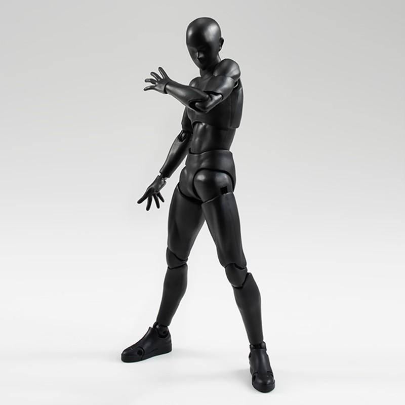 6 Types 2 Colors SHFiguarts Body Chan Body Kun Black Skin Color Ver PVC Action Figure Collectible Model Toy (9)