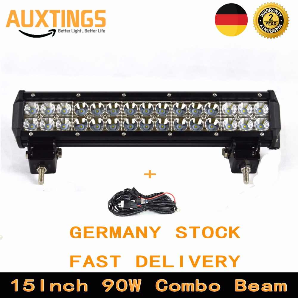 Detail Feedback Questions About Hello Eovo 12 Inch 72w Led Work Wiring On A Tractor Lights Germany Stock15inch 90w Light Bar Combo Beam 4x4 Offroad With