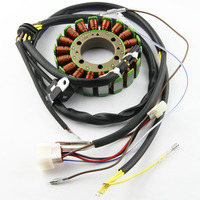 Motorcycle Ignition Magneto Stator Coil for Polaris 3089546 ATP 500 Sportsman 500 6x6 HO Carb Touring Engine Generator Coil