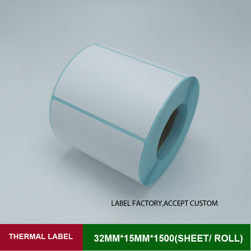 High quality label sticke paper 32mm*15mm for thermal printer 1500pcs one roll papel support custom logo self adhesive labels flsun 3d printer big pulley kossel 3d printer with one roll filament sd card fast shipping