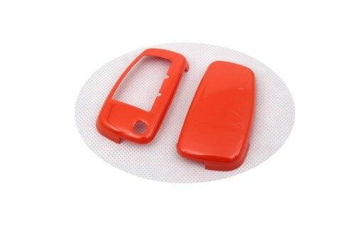 Жесткий Пластик без ключа дистанционного защиты Чехол(глянец оранжевый) для Audi
