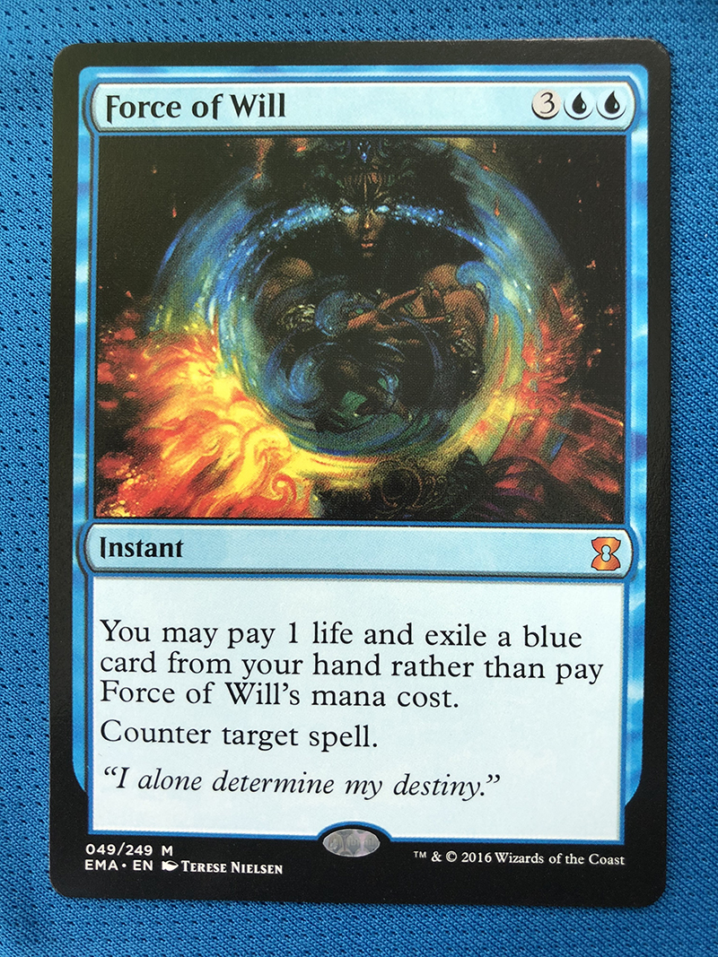 Force Of Will Eternal Masters Hologram Magician ProxyKing 8.0 VIP The Proxy Cards To Gathering Every Single Mg Card.