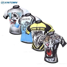 10 Styles XINTOWN Men Cycling Jersey Sportwear Breathable Ropa Ciclismo Team Bike Bicycle Clothing Short Sleeves Tops S-XXXL