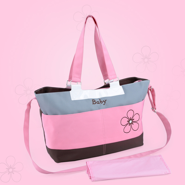 New Mummy Baby Bag Multifunctional baby diaper changing Shoulder Handbag Maternity Mother Stroller Bag For Mom