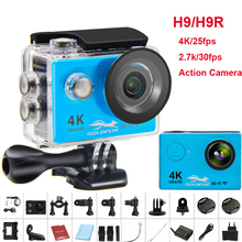 New H9/H9R Action camera Ultra HD 4K WiFi Camcorder 1080P/60fps 2.0 LCD 170D Helmet Cam go 30M waterproof pro camera