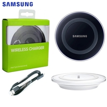 Samsung Original QI Wireless charger For S6 Plus S8 Note 9 8 S7 edge iPhone X XS XR Charging Dock Cradle Charger
