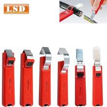 Нож для снятия изоляции ПВХ/силикон/резина/PTFE диаметр 4-50 мм зачистки кабеля мини электрический нож для зачистки проводов инструмент для зачистки проводов зачистка провода