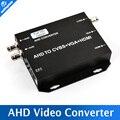 2016 Original Nuevo AHD AHD HD Video Converter a Señal HDMI/VGA/BNC Con 720 P/1080 P 25/30Hz EE.UU./EU/UK/AU Plug Negro