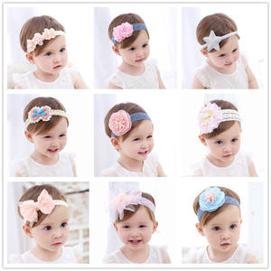 Newborn Headband Hair Accessories Baby Flowers Girl bands 040d94e711c