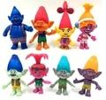 10CM 8PCS/LOT pvc Anime movie figure troll action figure set collectible model toys for boys