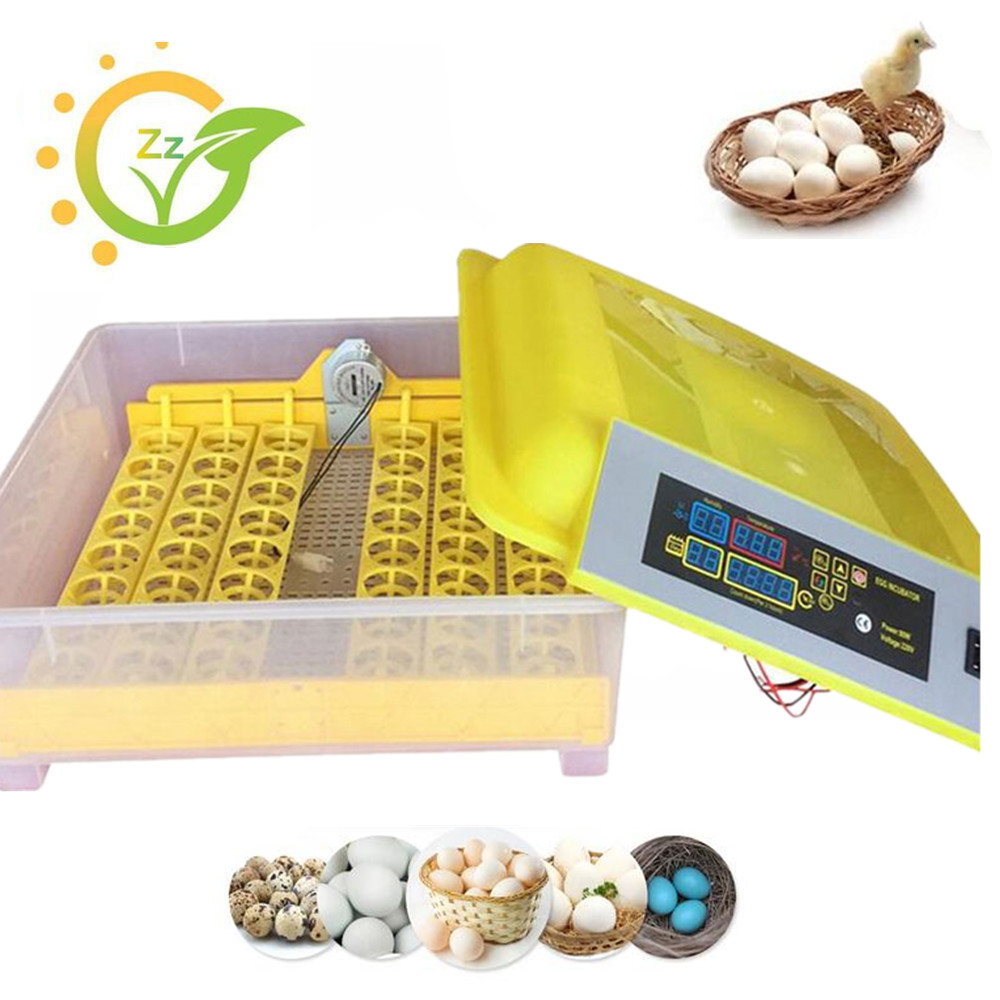 Mini Industrial Brooder Hatchery Machine Fully Automatic For Hatching 48 Chicken Duck Poultry Eggs ce certificate poultry hatchery machines 48 automatic egg turner hatching incubators for sale