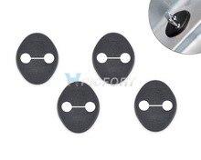 CITALL 4pcs Car Door Striker Cover Lock Protector Case For Hyundai Elantra Sonata IX35 I30 Kia Sportage 2010 2011 2012 2013 2014