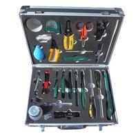 Kit de herramientas FTTH de fibra óptica de alta calidad 25 en 1 con pelador  pelador de fibra óptica  pelador de Cable  destornilladores