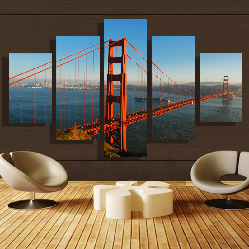5 Pcs/Set Modern Home Art Wall Living Room Decoration