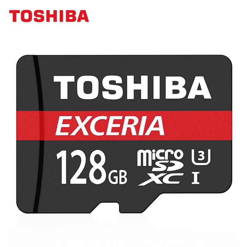 TOSHIBA 128 ГБ M302 EXCERIA TF высокое Скорость хранения Micro SDXC карты U3 Class10 картао де memoria Поддержка 4 К Full HD Запись ...