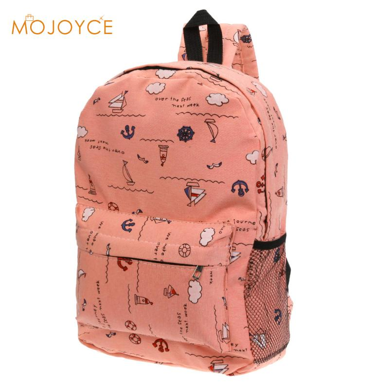 Hot Fashion Canvas Backpack For Women Girls Satchel School Bags Cute Rucksack School Backpack Shoulder Bag for Teenager Girls