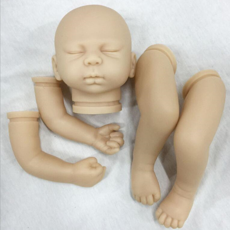 Reborn Doll Kits for 20inches Soft Vinyl Reborn Baby Dolls Accessories for DIY Realistic Toys for DIY Reborn Dolls Kits dk-90 reborn doll kits for 20inches soft vinyl reborn baby dolls accessories for diy realistic toys for diy reborn dolls kits dk 89
