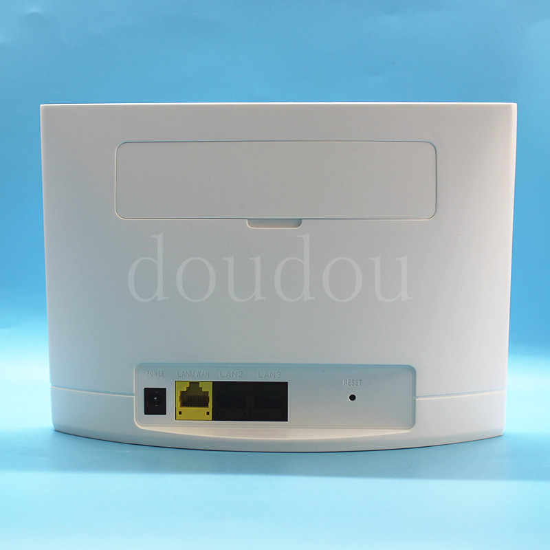 مقفلة 4G OEM راوتر لاسلكي 4G LTE 300Mbps CPE واي فاي راوتر مودم مع فتحة للبطاقات Sim PK B310 ، B315 ، B593 ، B525 ، E5186