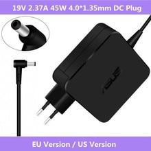 ASUS 19V 2.37A 4.0*1.35mm adaptateur secteur pour ordinateur portable chargeur de voyage pour Asus Zenbook UX305 UX21A UX32A Series Taichi 21 ADP 45AW A