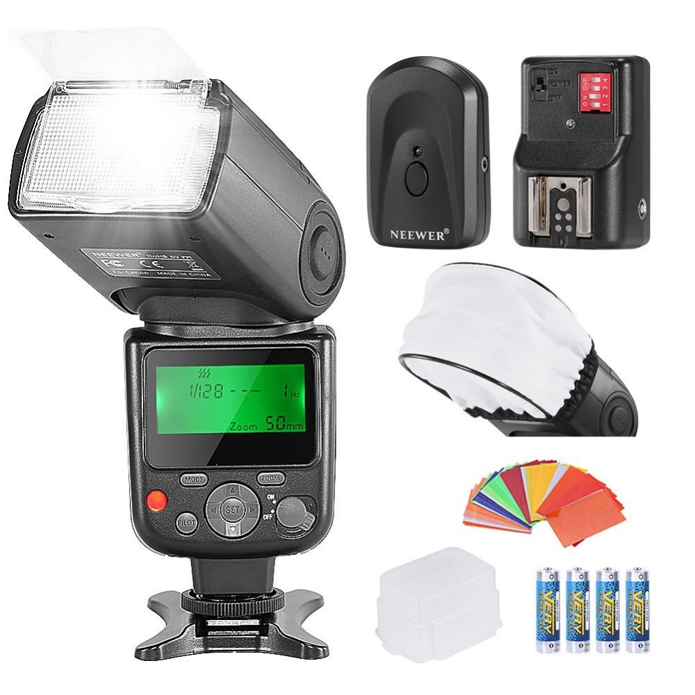 Neewer PRO NW670 E-TTL Photo Flash Kit For CANON Rebel T5i T4i ,EOS 700D 650D 600D  70D DSLR Cameras,Canon EOS M Compact Camerds