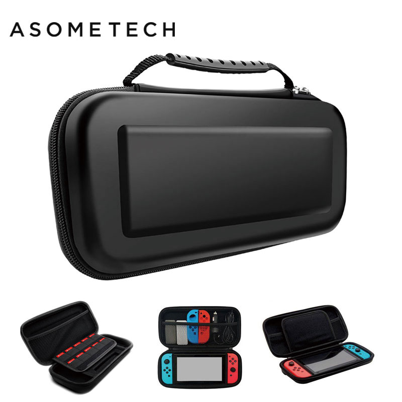 Portable EVA Storage Bag Cover Cases For Nintend Switch Case NS NX Console Protective Shell Accessories Controller Travel Funda