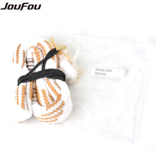 JouFou 16GA Boer Snake Rope Gun Cleaning Kits Used For Tactical Hunting Rifle & Pistol & Army Paintball Shooting